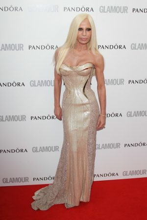 "Donatella Versace Fires Back at Armani for ""Tasteless"" Gianni Comment"