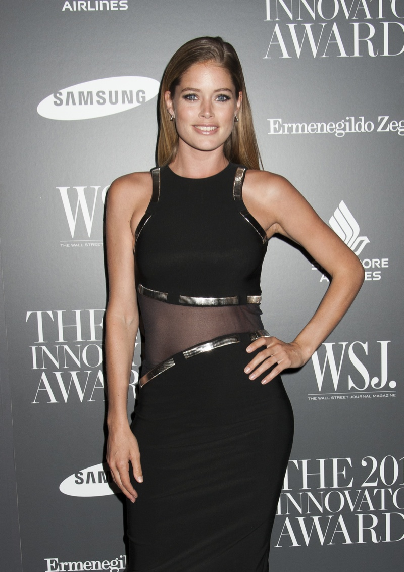 Doutzen Kroes at 2014 WSJ Event. Photo: Janet Mayer / PRPhotos.com