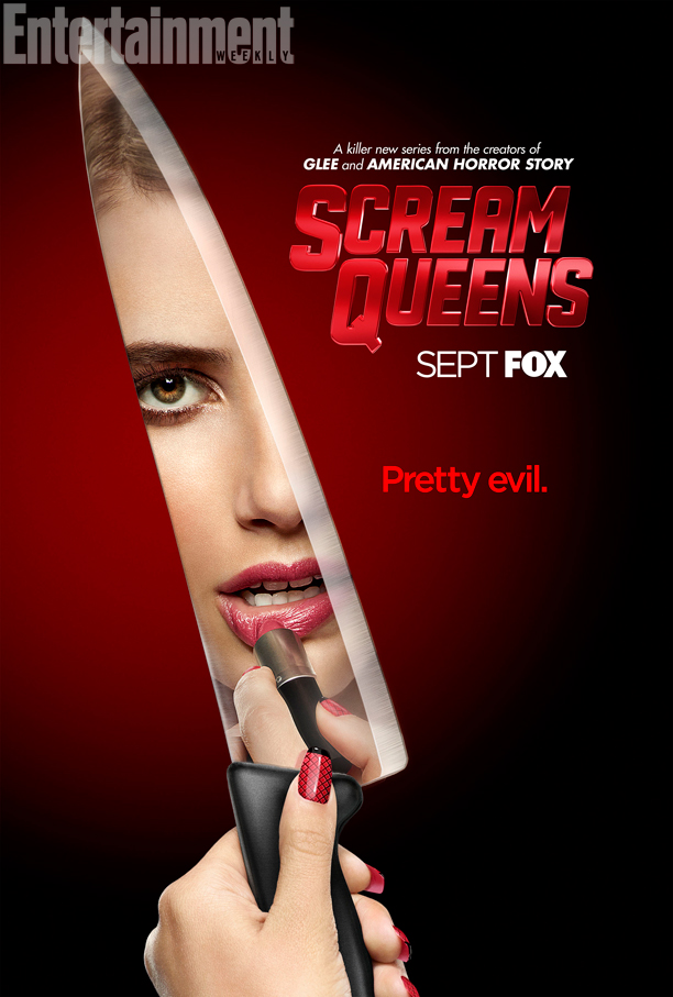 Emma Robers on 'Scream Queens' poster