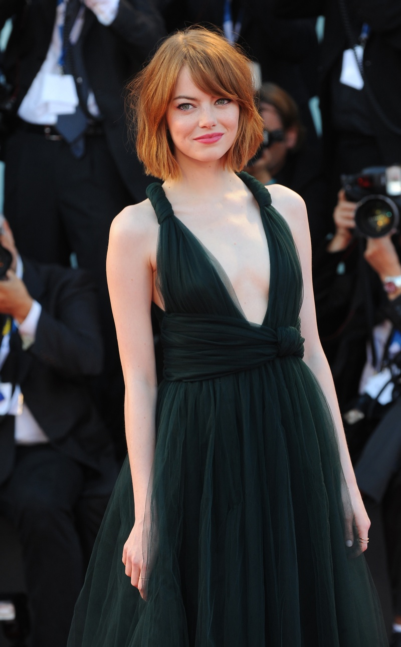 Emma Stone is famous for changing her hair character, but is most recognized for her red hair. She became known for roles in 'Easy A', 'The House Bunny' and 'The Help'. Photo: Landmark / PR Photos