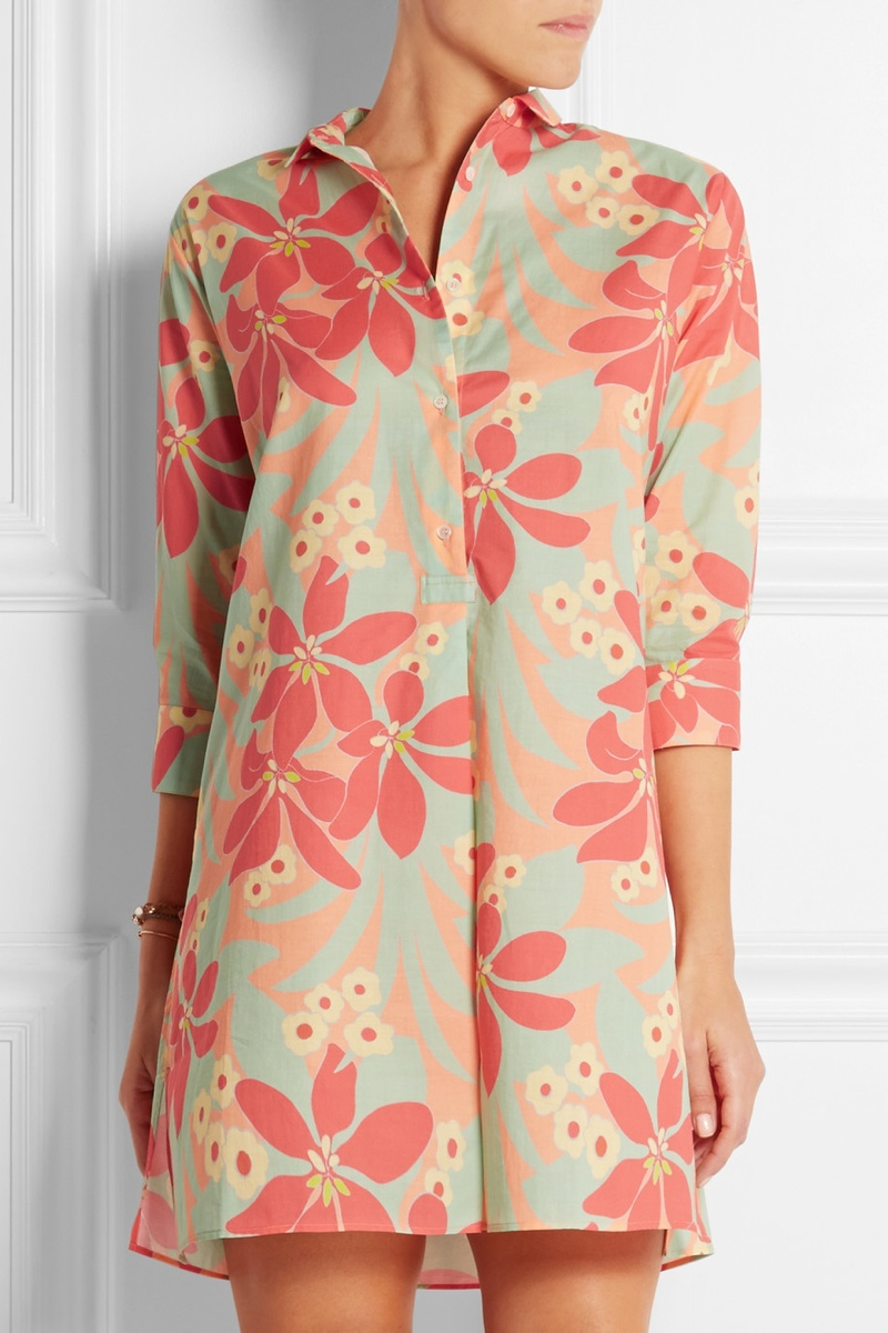 ERES + Laure Hériard-Dubreuil printed cotton tunic available for $590.00