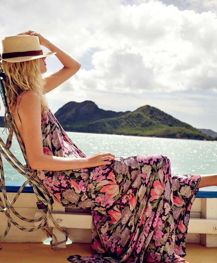 Free People launches its April campaign  shot in Antigua