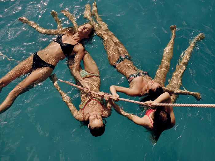 Free people also offers swimsuit, bikini styles for the new season