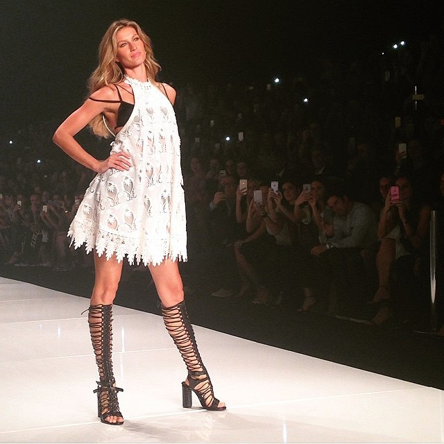 5a6171815 Gisele Bundchen walks her final runway show at the Colcci spring 2016  presentation at Sao Paulo