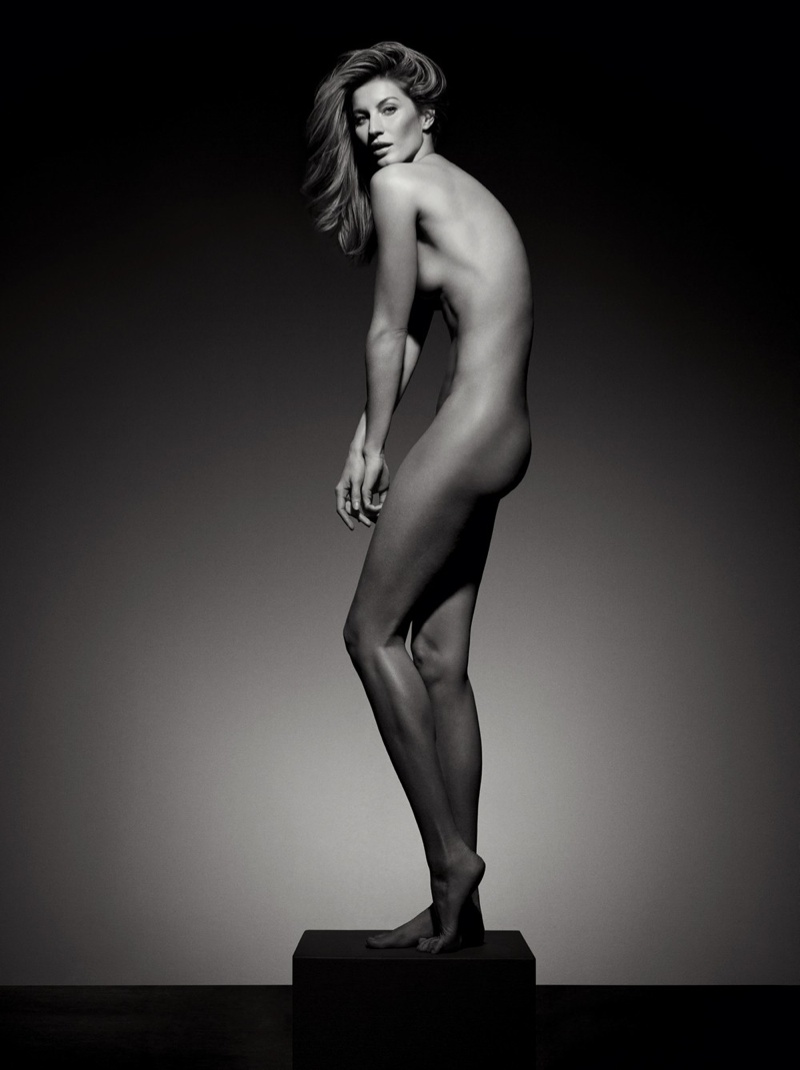 Gisele wanted to do something that would celebrate herself and not just fashion. Photo: Inez & Vinoodh