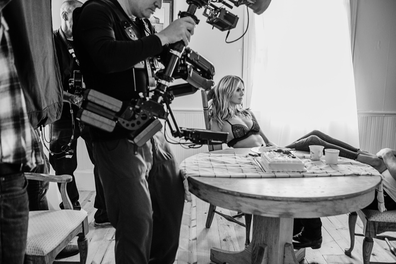 Heidi Klum Gets Romantic in Sia 'Fire Meet Gasoline' Video