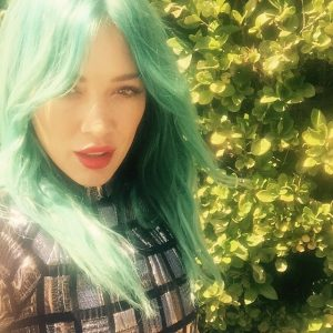 Blue No More! Hilary Duff Debuts Pink Hair