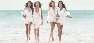 Adriana, Natasha, Joan and Doutzen Go Charlie's Angels for H&M