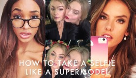 These supermodels know how to take the perfect Instagram selfie, do you?