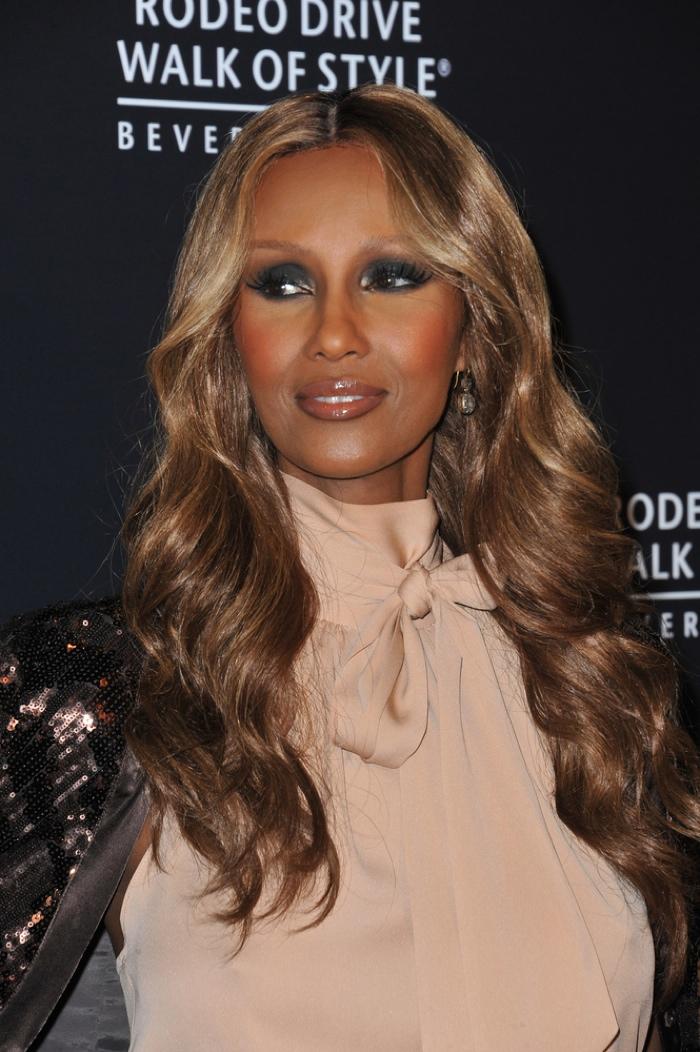 Iman retired from modeling in 1989. Photo: Jaguar PS / Shutterstock.com
