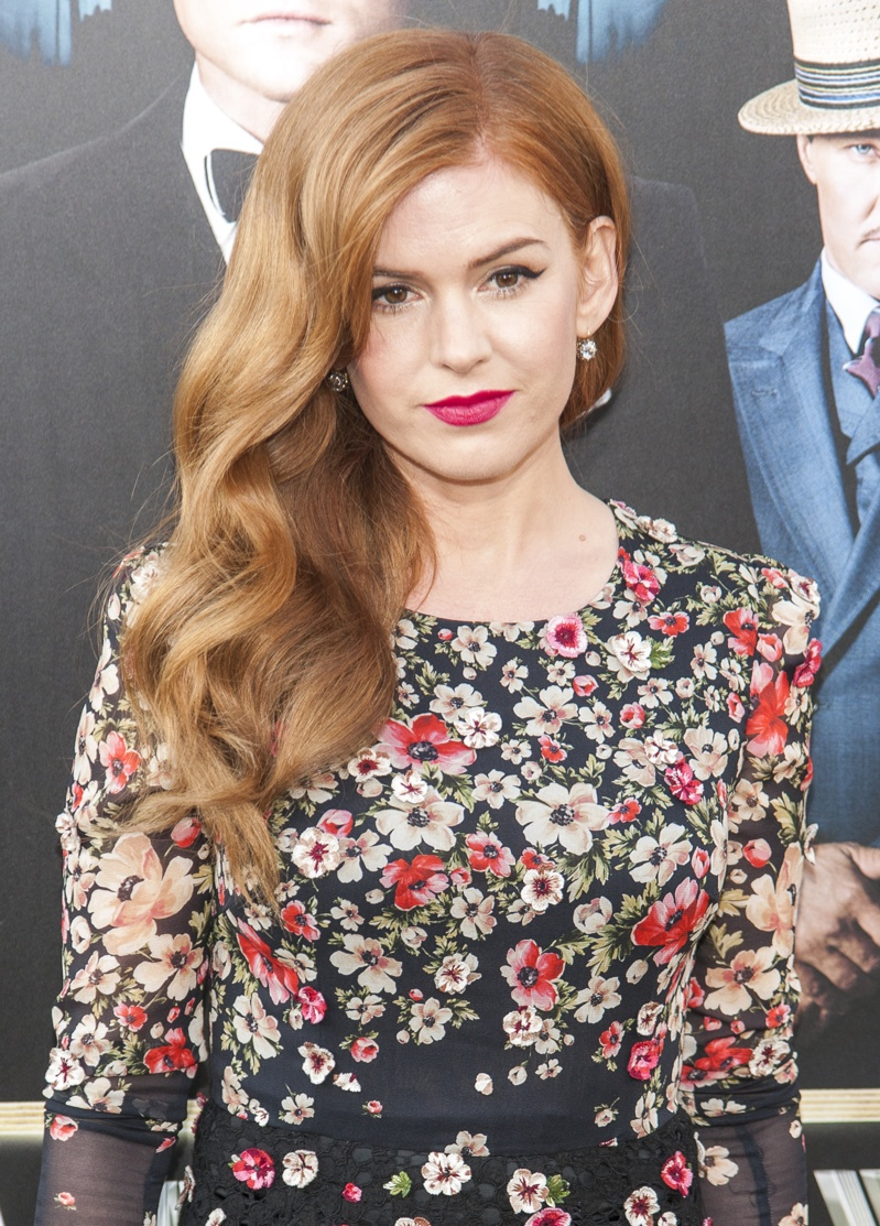 Isla Fisher is an actress known for her flaming red hair. People often comment on her resemblance to Amy Adams. Isla has starred in films like 'Now You See Me' and 'Bachelorette'. Photo: Marco Sagliocco / PRPhotos.com