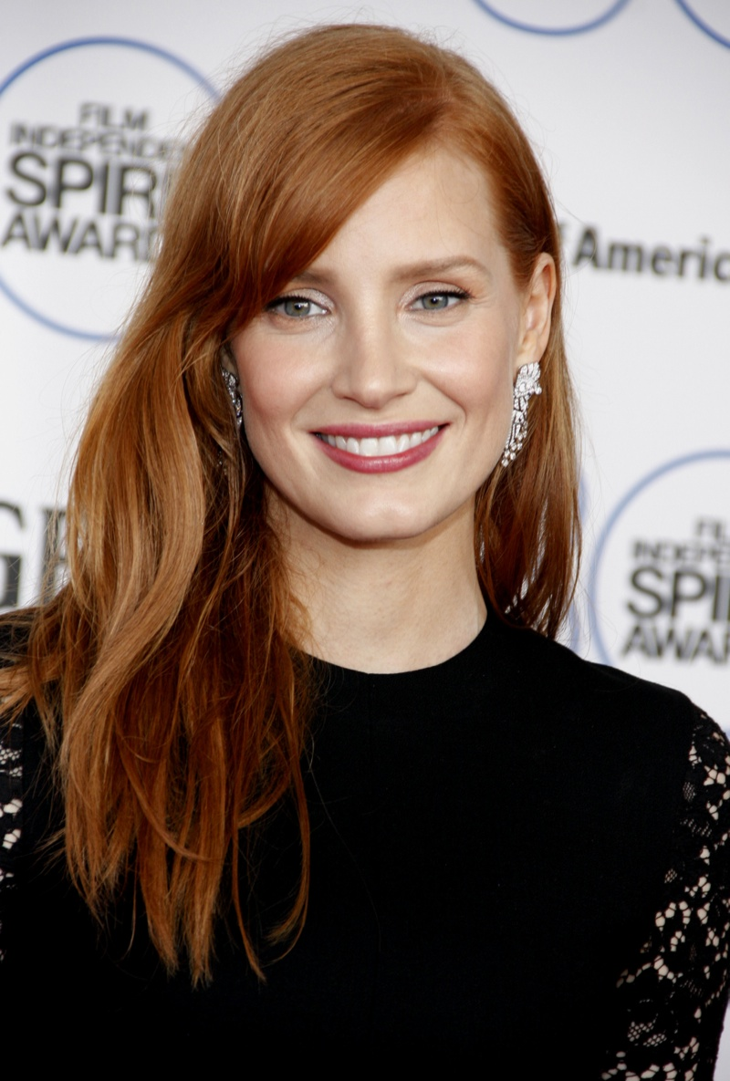Jessica Chastain has rose to fame with her signature red hair. The Oscar-nominated actress is known for her roles in 'The Help', 'Interstellar' and 'Zero Dark Thirty'. Photo: David Gabber / PR Photos
