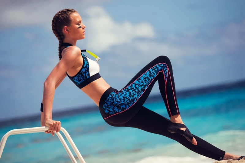 Getting in shape? Juicy also offers athletic outfits as wlel.