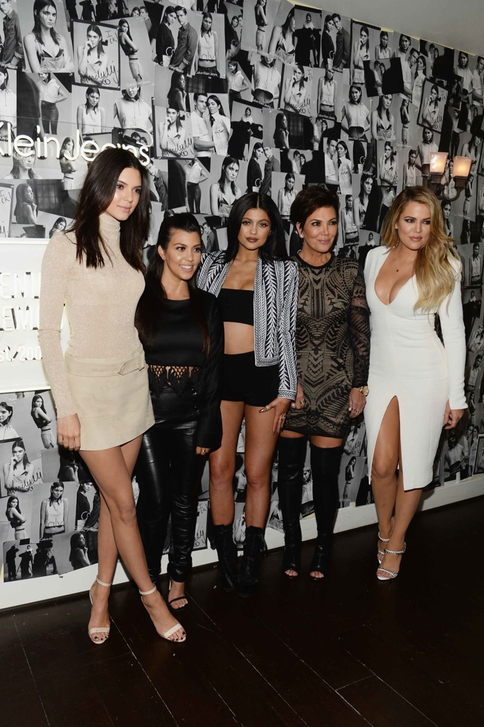 Kendall Jenner, Kourtney Kardashian, Kylie Jenner, Kris Jenner and Khloe Kardashian. Photo: Getty Images Entertainment