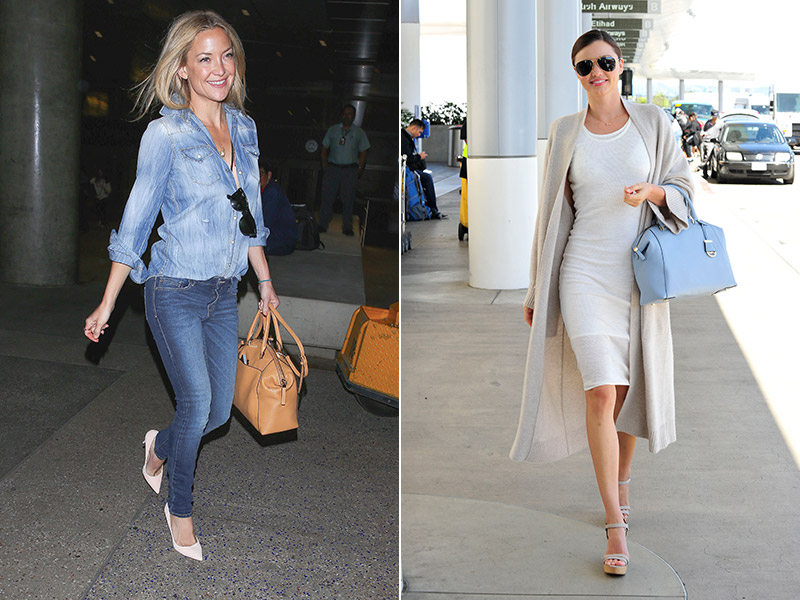 Kate Hudson & Miranda Kerr show how to do candid style. Photo: Splash News / StarTraks Photo