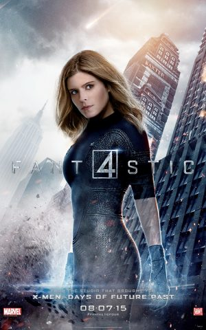 Kate Mara is The Invisible Woman on 'Fantastic Four' Poster