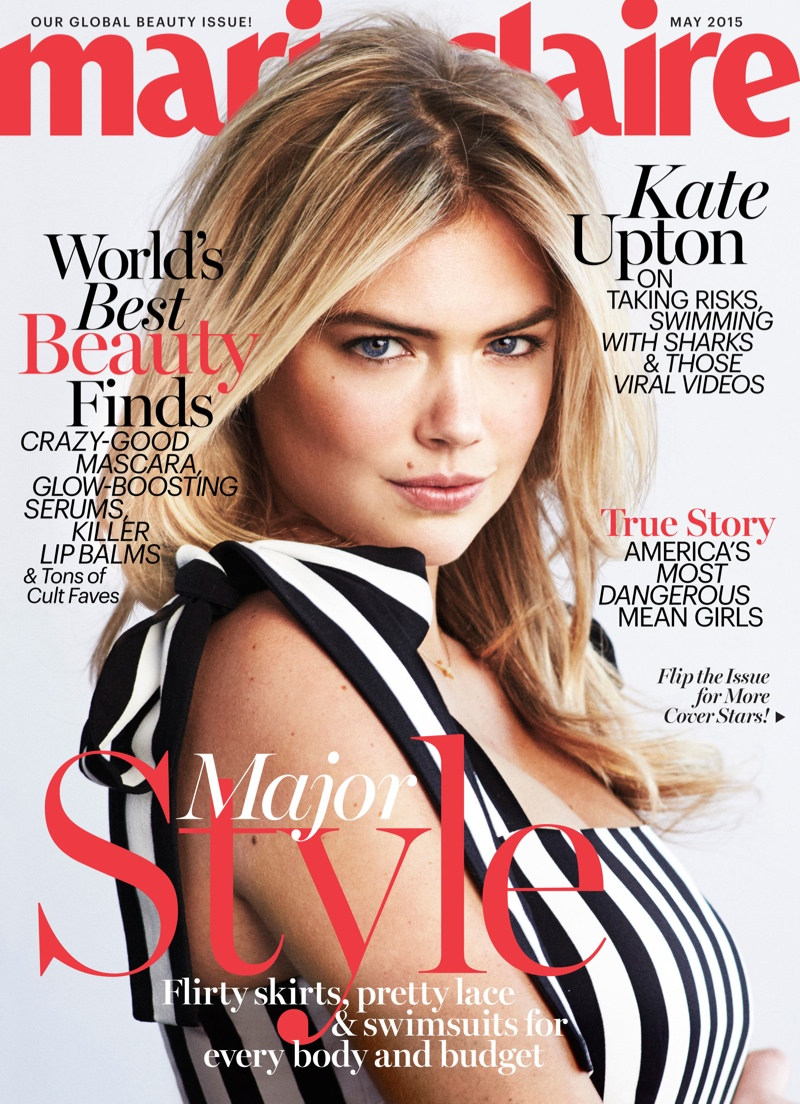 Meet Marie Claire's May Cover Girls: Kate, Iggy, Zoe, Felicity & Hailee