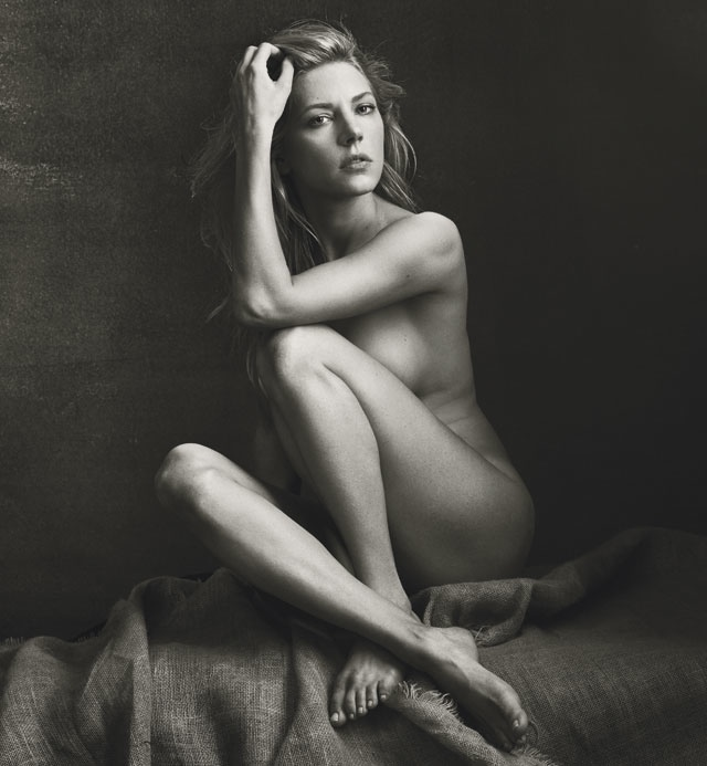 Katheryn Winnick goes naked for Allure