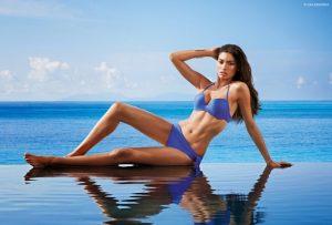 Kelly Gale Rules Swim Season in Calzedonia Looks