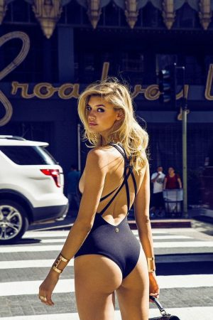 Kelly Rohrbach is Ready for Summer in Rise City Swim