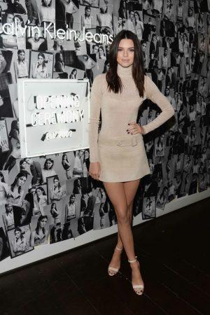 Kendall Jenner, Cara Delevingne Hit LA for Calvin Klein Jeans #mycalvins Denim Launch
