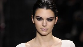 Kendall Jenner on the runway during New York Fashion Week. Photo: Fashionstock.com / Shutterstock.com