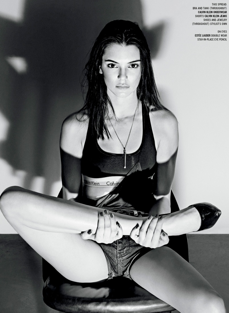 Photographed by Steven Klein, the Calvin Klein denim model talks about seeing her billboard on sunset