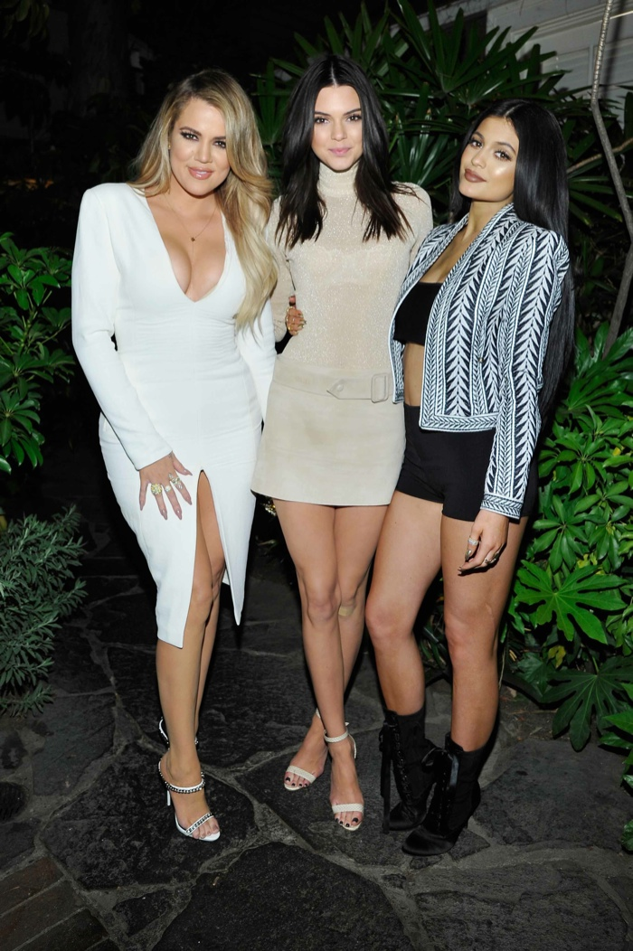 Kourtney Kardashian, Kendall Jenner and Kylie Jenner. Photo: Getty Images Entertainment