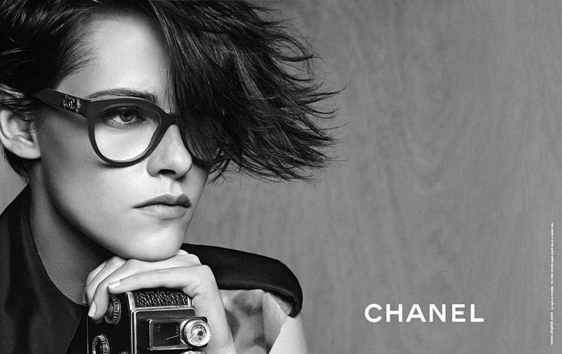 Kristen Stewart Gets Moody for Chanel Eyewear