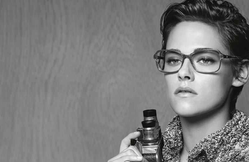 Kristen has starred in two previous Chanel campaigns--one for a handbag and another for its pre-fall 2014 collection