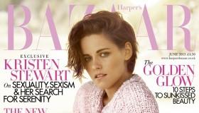 Kristen Stewart lands June 2015 cover of Harper's Bazaar UK in Chanel