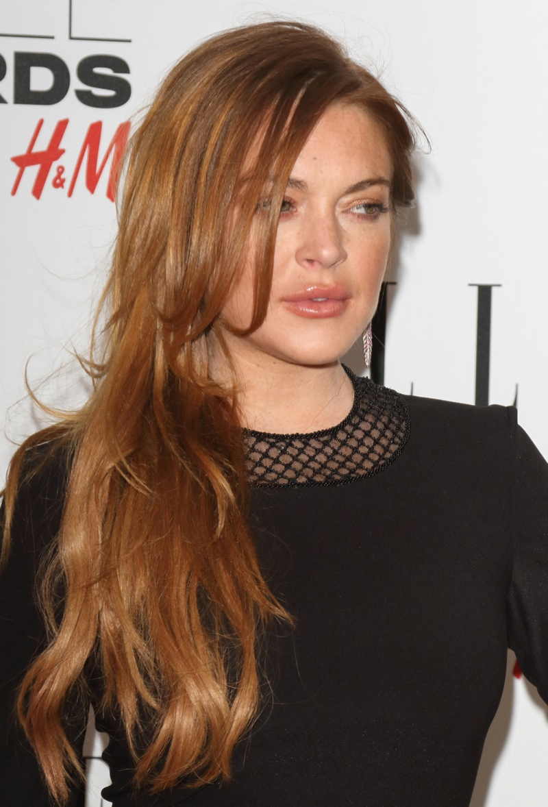 Lindsay Lohan is another famous redhead actress. Besides her tabloid-fueled personal life she is most well-known for films like 'Mean Girls', 'The Parent Trap' and 'Freaky Friday'. Photo: Landmark / PR Photos
