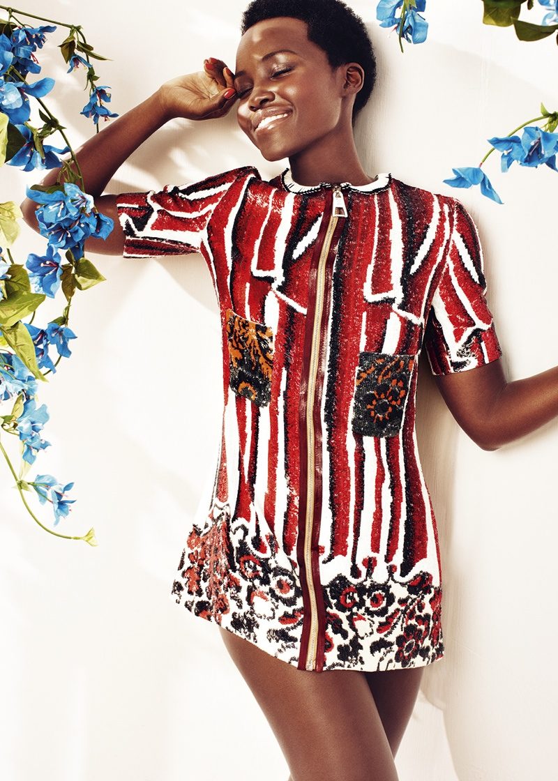 Lupita Nyong'o is All Smiles for Harper's Bazaar UK