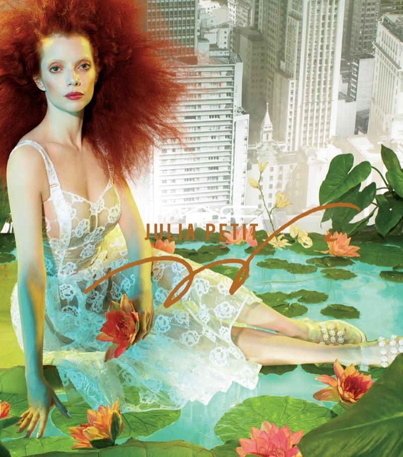 MAC Cosmetics 'Julia Petit' Campaign