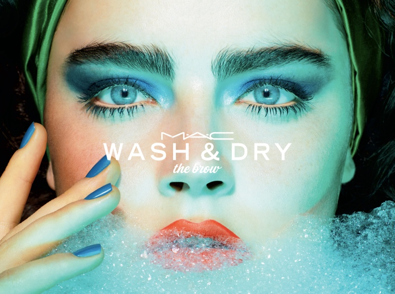 MAC Cosmetics 'Wash & Dry' Campaign