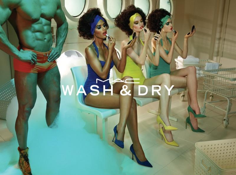 MAC Cosmetics 'Wash & Dry' Campaign
