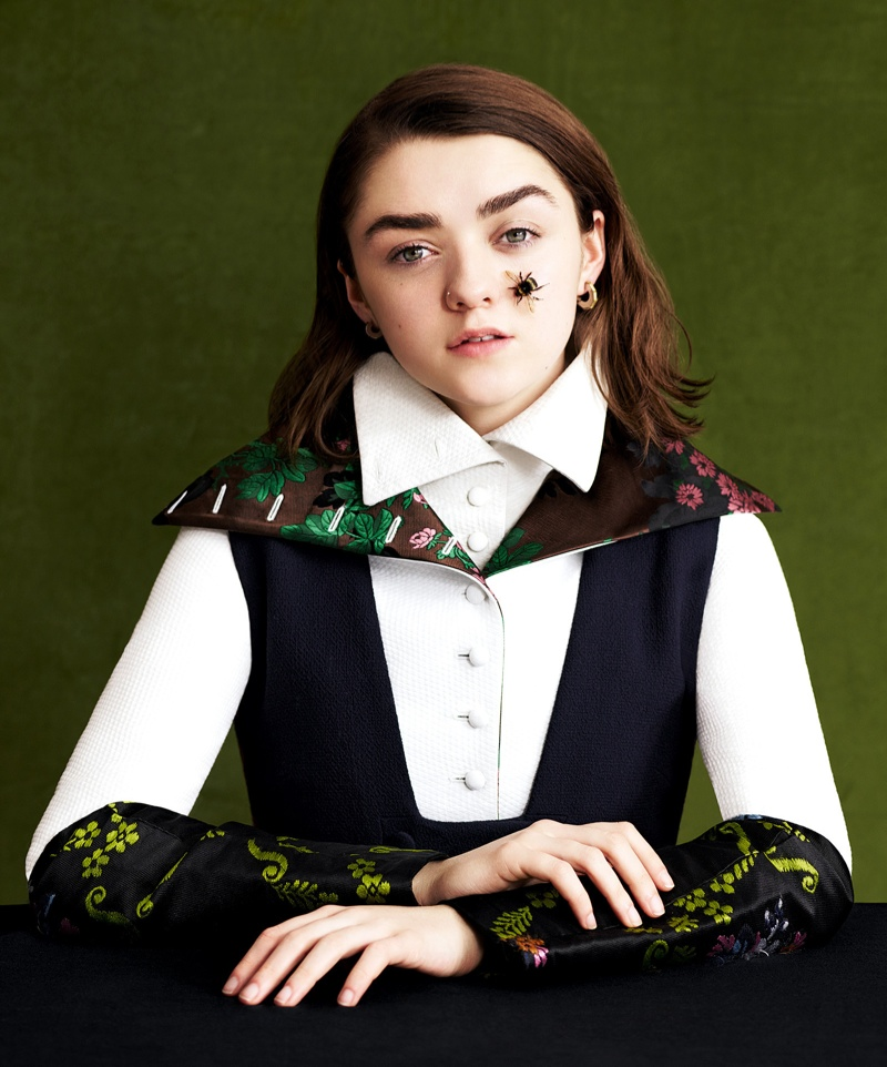 Maisie Williams Covers Dazed, Thinks Adults 'Don't Know S--t'