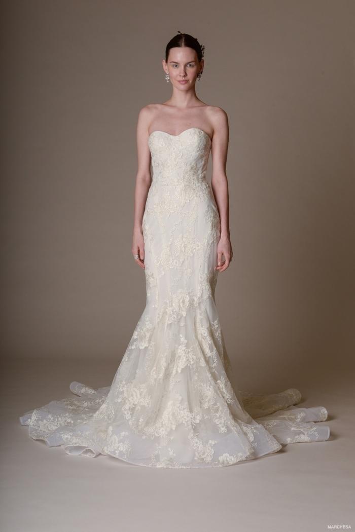 Mands Dresses For A Wedding : Marchesa spring wedding dresses