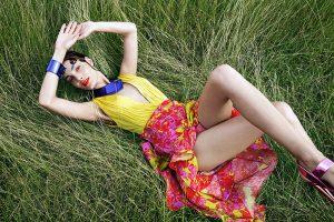 Mariana Coldebella Goes Retro for Woman Madame Figaro