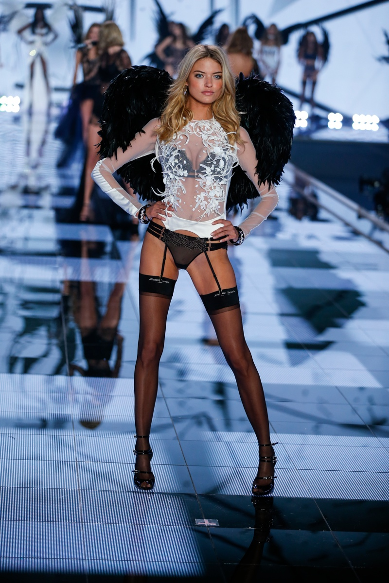 Martha Hunt (United States). Photo: Victoria's Secret