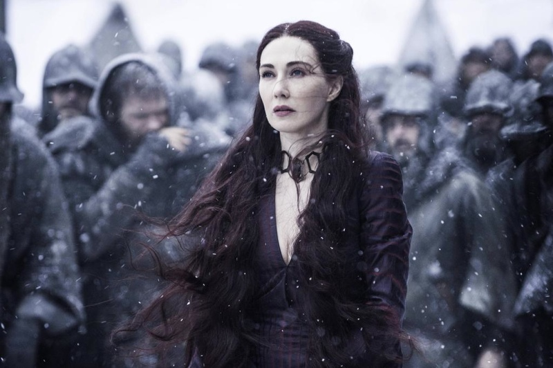 """Have you ever slaughtered a lamb?""  - Melisandre. Photo: HBO"