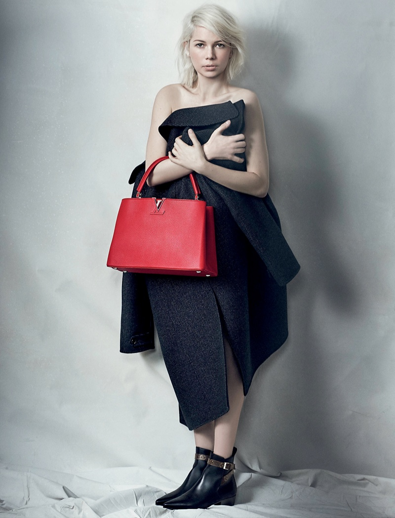Michelle Williams Brings Some Edge to Latest Louis Vuitton Ads