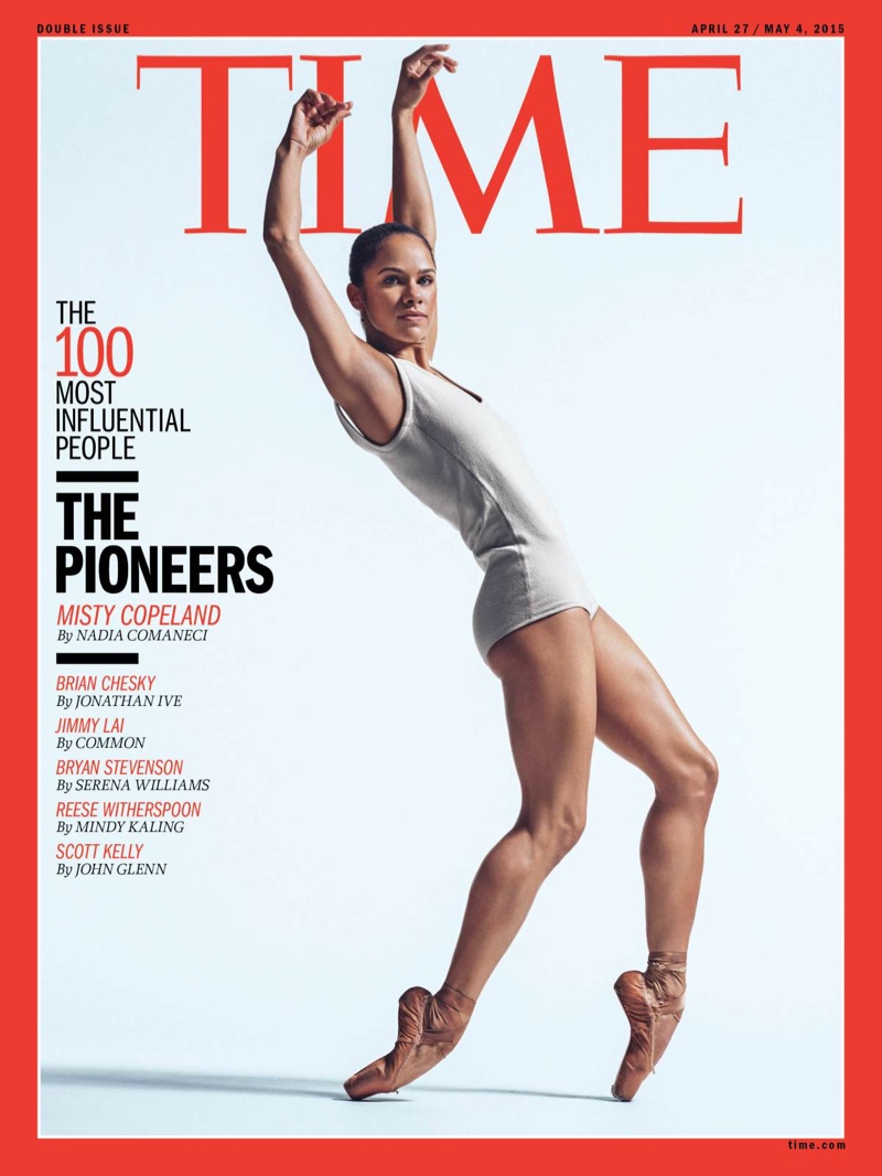 Misty Copeland, DVF, Kim Kardashian Named Among Time's 100 Most Influential People