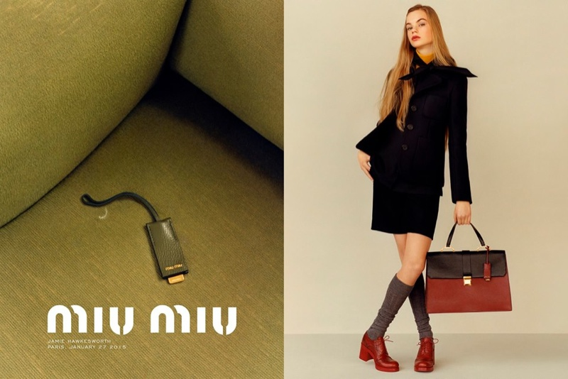 Miu Miu offers up retro inspired looks for the pre-fall season