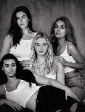 Models 1 Curve Launches Unretouched Shoot, Wants to #DropthePlus