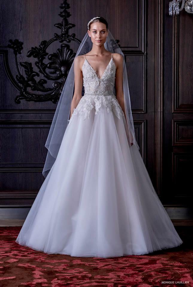 Monique Lhuillier Embraces Fantasy for Spring Bridal Line