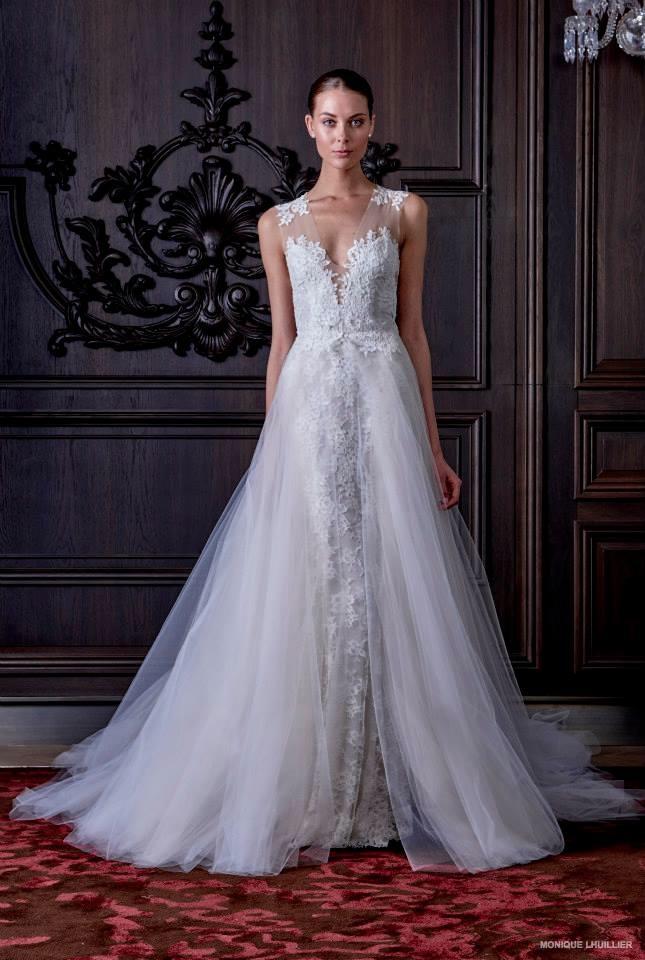 Monique Lhuillier Wedding Dresses Spring 2016 11