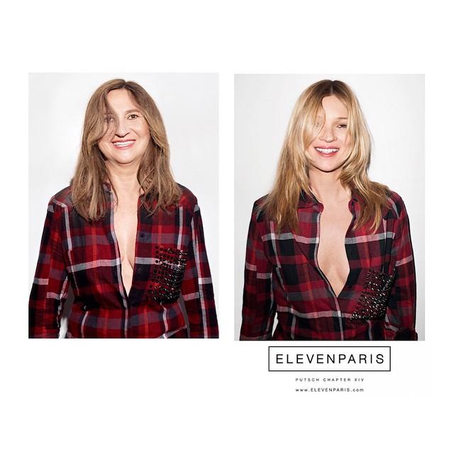 French Stylist Parodies Kate Moss, Gisele Bundchen in Spoof Ads