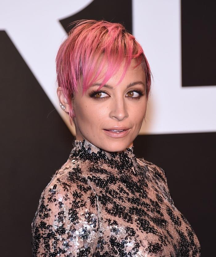nicole-richie-short-pink-hair Nicole Richie
