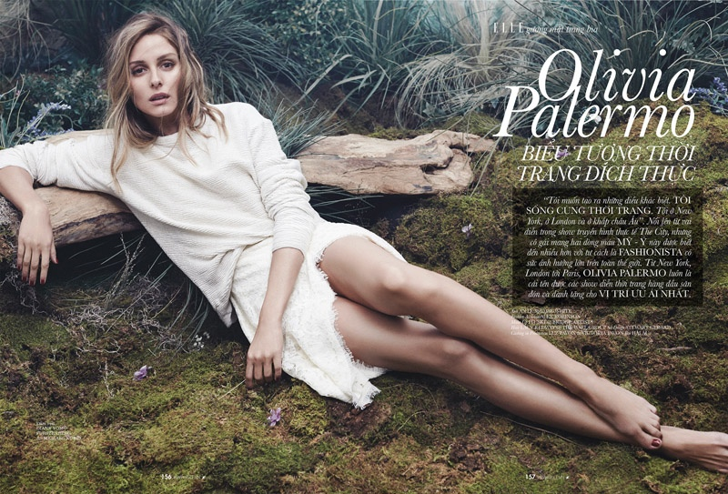 Olivia Palermo Shows Off Her Casual Side for ELLE Vietnam